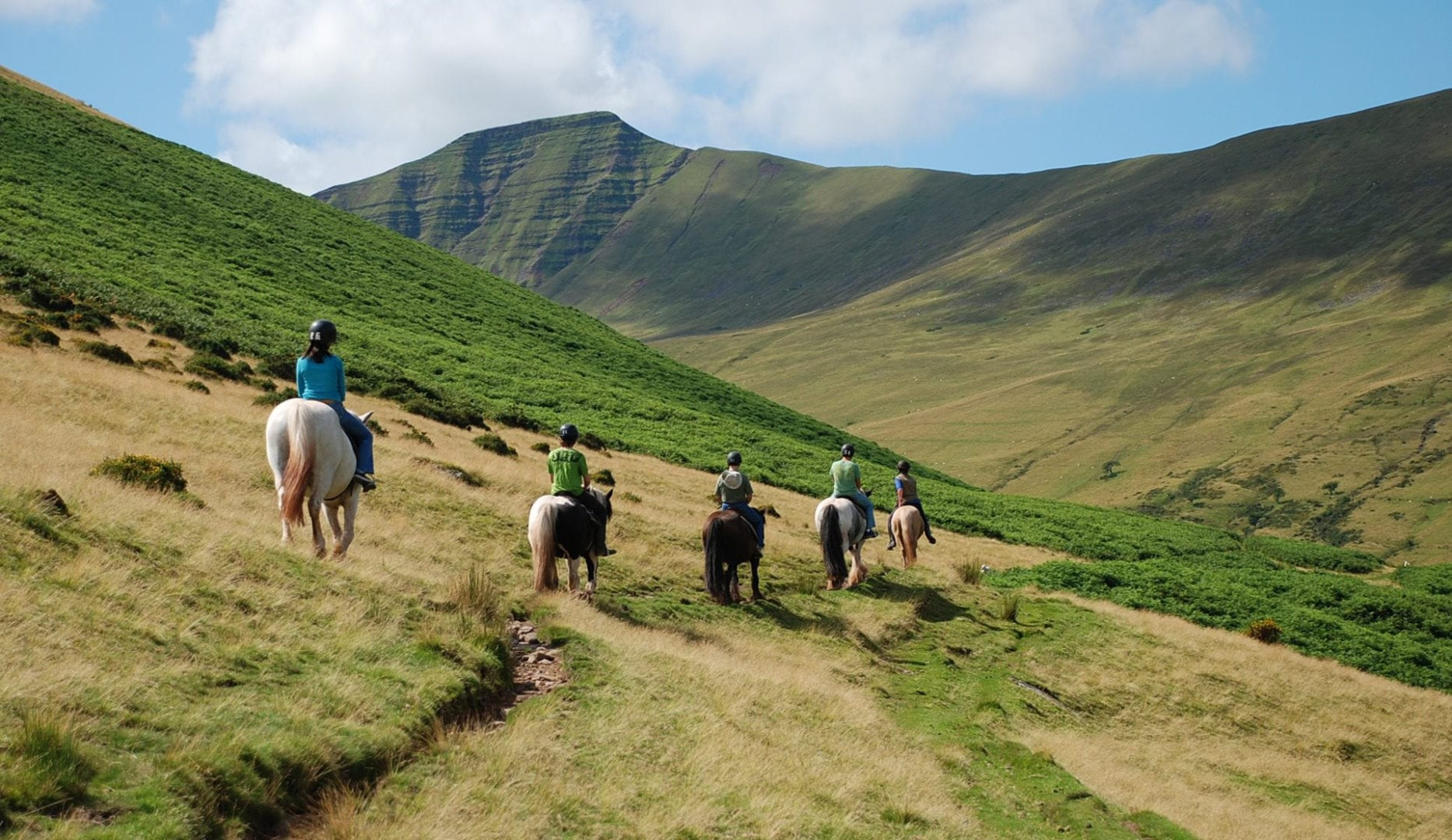 cantref farm bunkhouses horse riding on brecon beacons