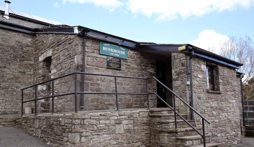 cantref farm bunkhouse in the brecon beacons