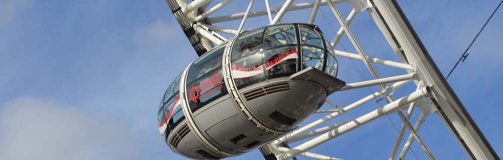 London Eye in Central London