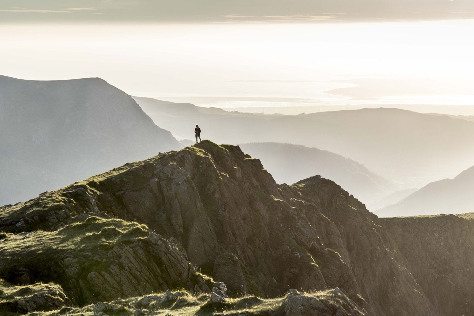 Snowdon golden hour