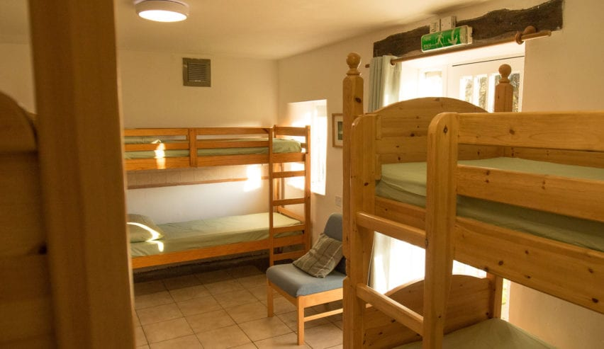 bunks at the rookhow centre