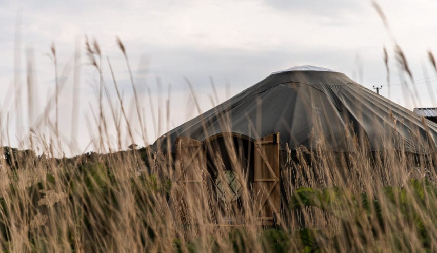 yurt at outdoor alternative on anglesey