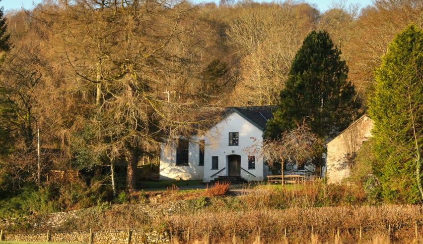 Rookhow Centre and quaker meeting house in south lakedistrict