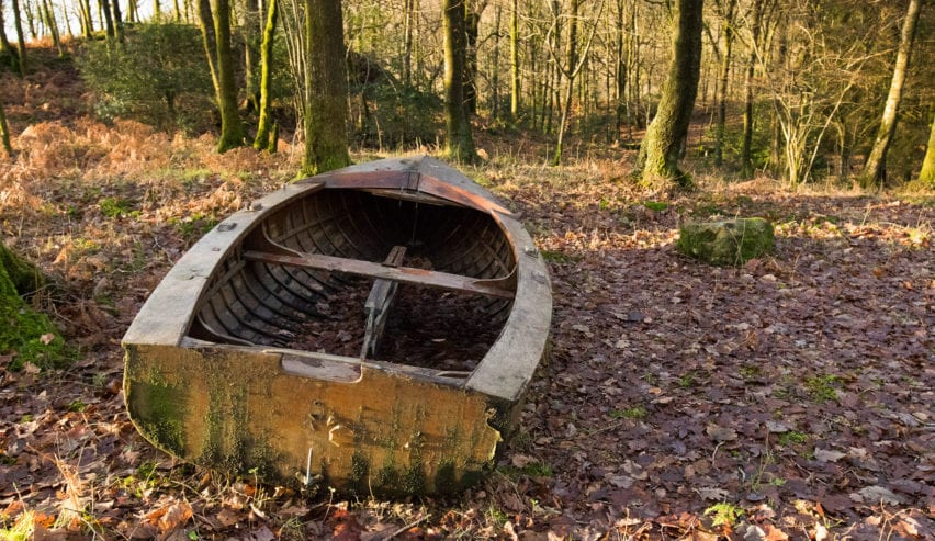 boat in rookhow woods