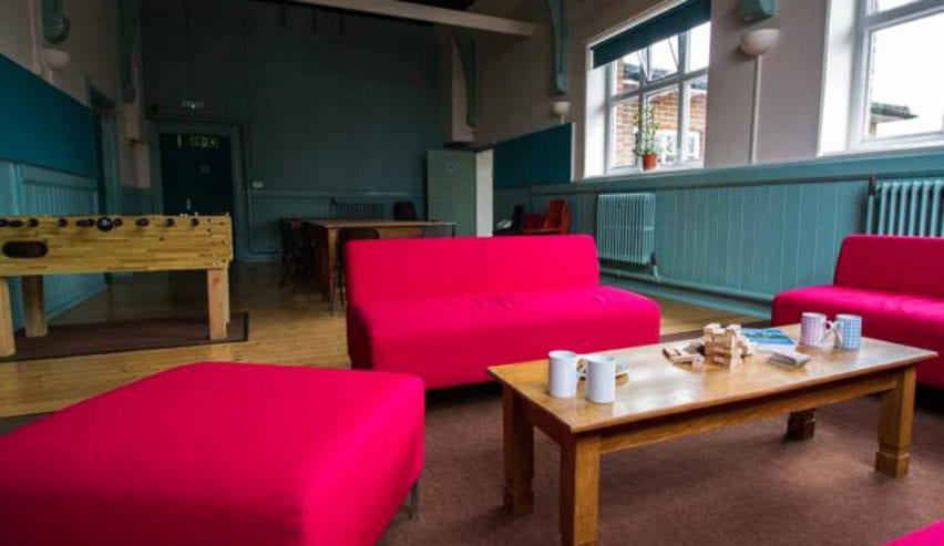 Cup of tea at The Pivett Centre school and group accommodation in Hampshire
