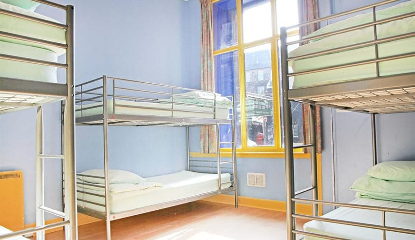Cowgate Hostel Edinburgh. Bunks