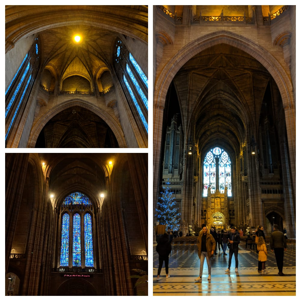 Liverpool Cathedral at the New Year