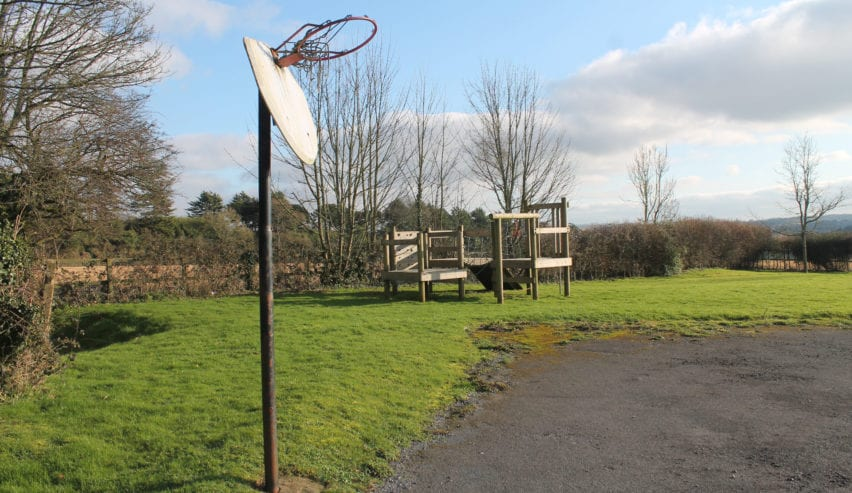 playground at The Pivett Centre school and group accommodation in Hampshire