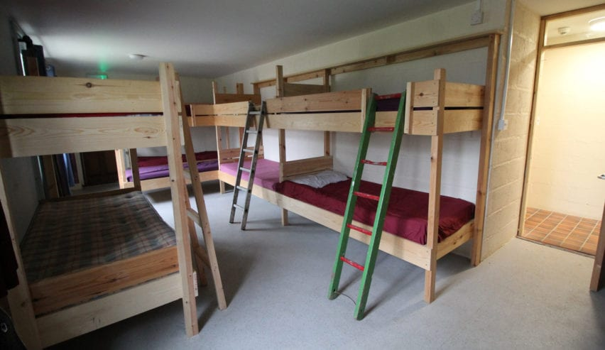 accommodation at mendip bunkhouse