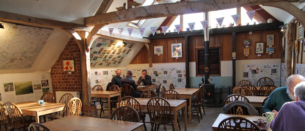 walkers cafe much used by locals at the old Ridgeway Centre
