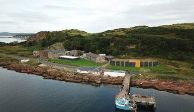Millport FSC Centre, Isle of Cumbrae. Aerial View