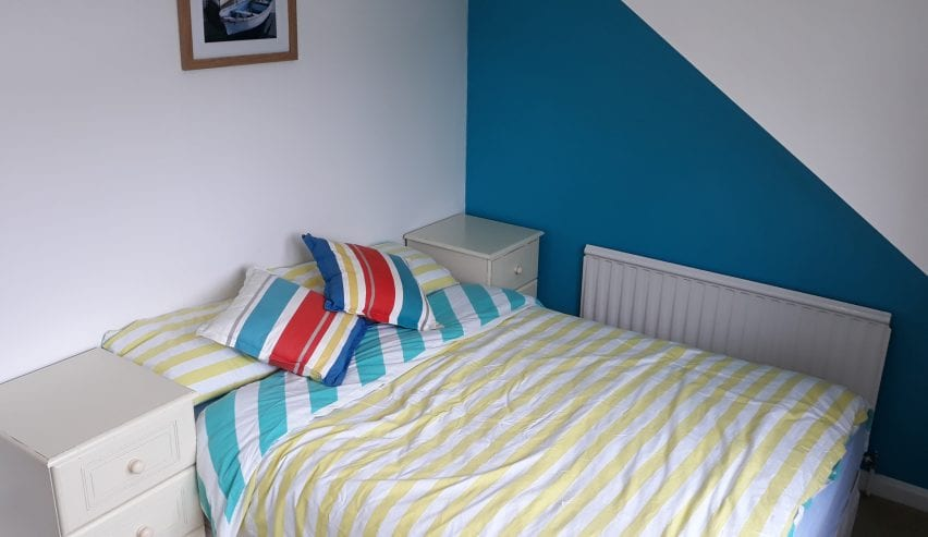 double room at Blue Room Hostel Newquay