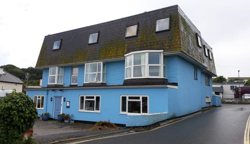 Blue Room Hostel Newquay.