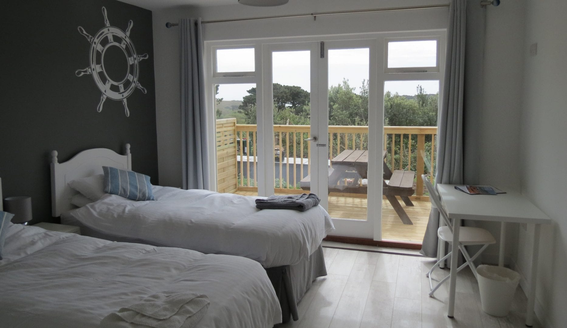 twin room at Longstone Lodge St.Marys Scilly Isles