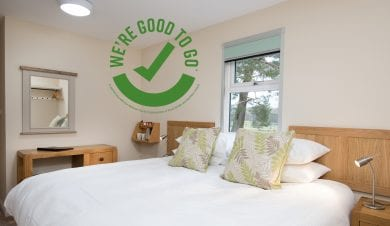 Brown Rigg Guest Rooms are Good to Go