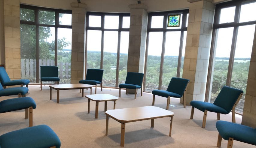 Chellington Centre Panoramic room with social distancing