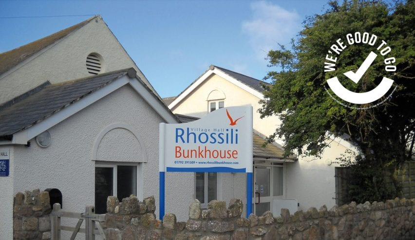 Rhossili Bunkhouse and Good to Go logo