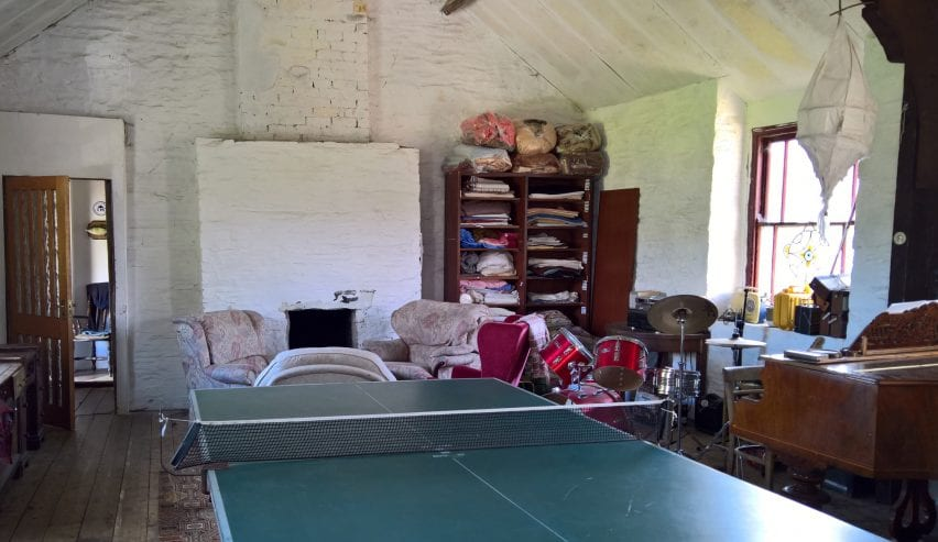 games room at Toad Hall