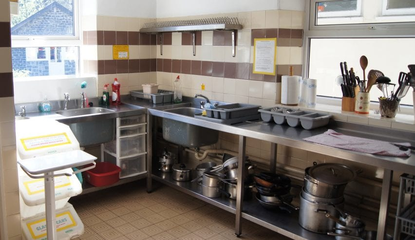 kitchen at the Woodlands Centre