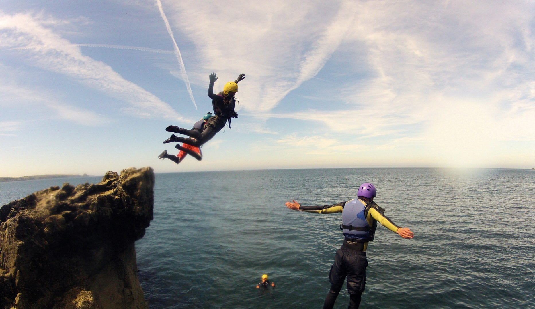 Coasteering and Autumn Adventure at preseli venture