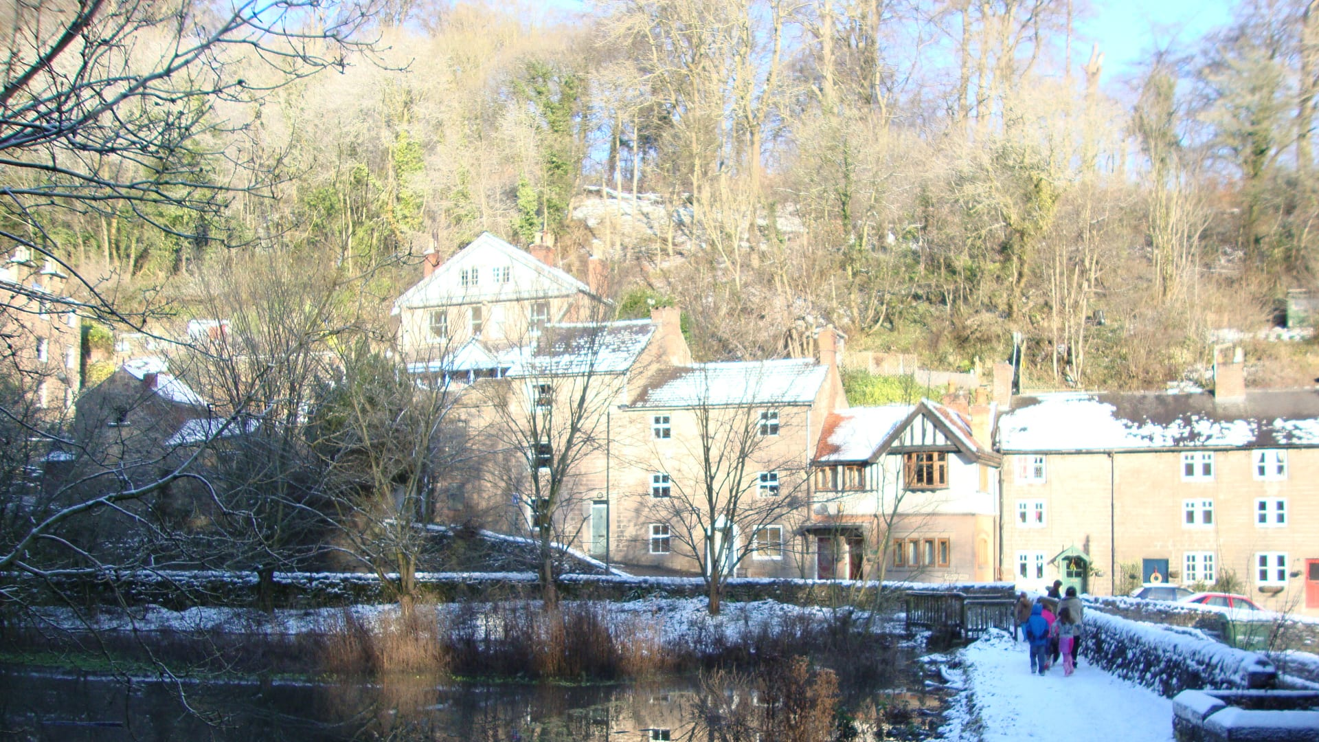 Winter Breaks in Shropshire and the Peak District :  Staycations in Central England