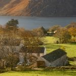 Wild wool Barn in Ennerdale in the lake district
