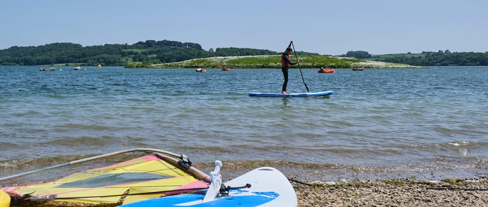 A choice of watersports for you mini break at Carsington Water