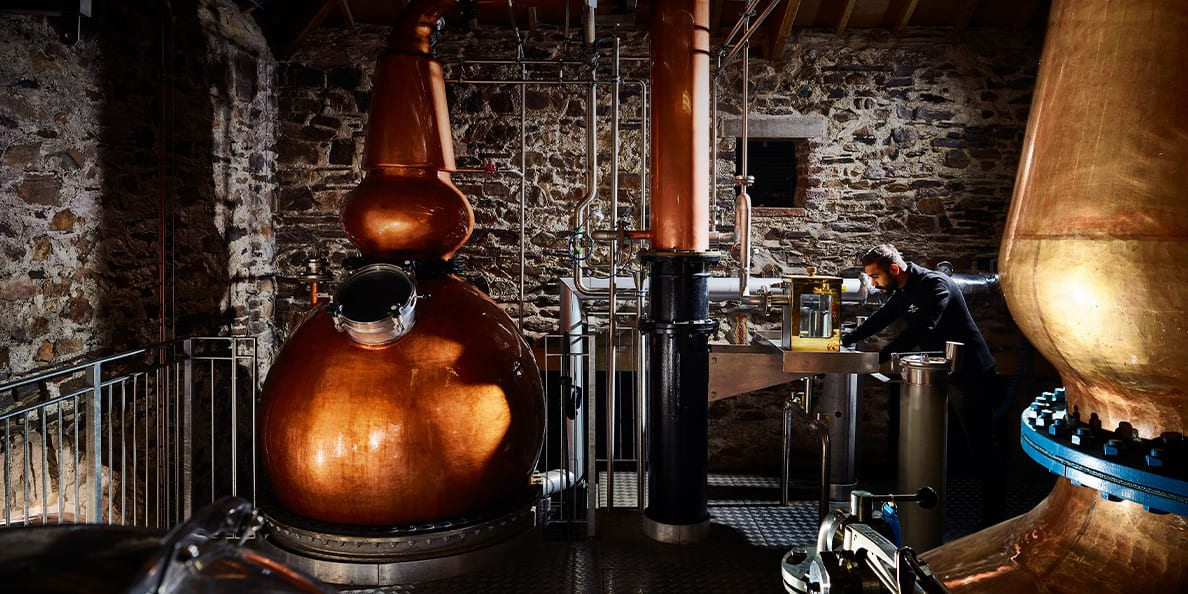 The Lakes Distillery has a range of tasting and tour opportunities perfect for your staycation
