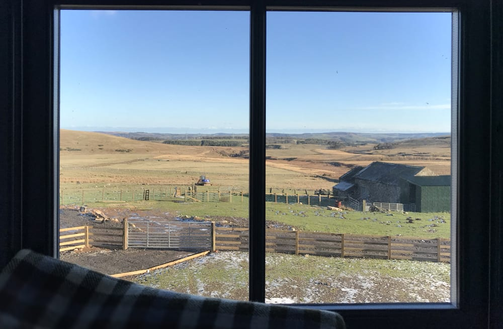 view of northumberland from ilderton dod bunkhouse