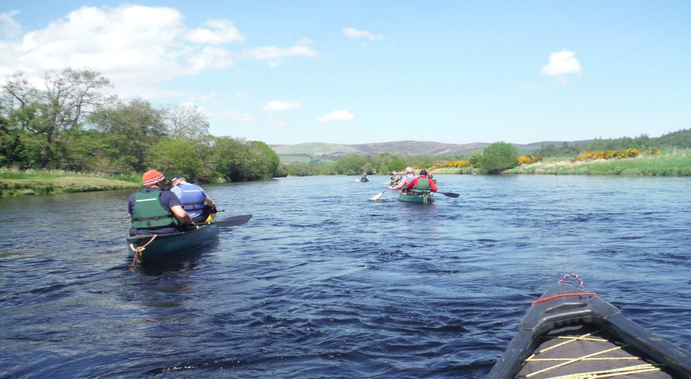 Outdoor activity breaks at Ardenbeg bunkhouse