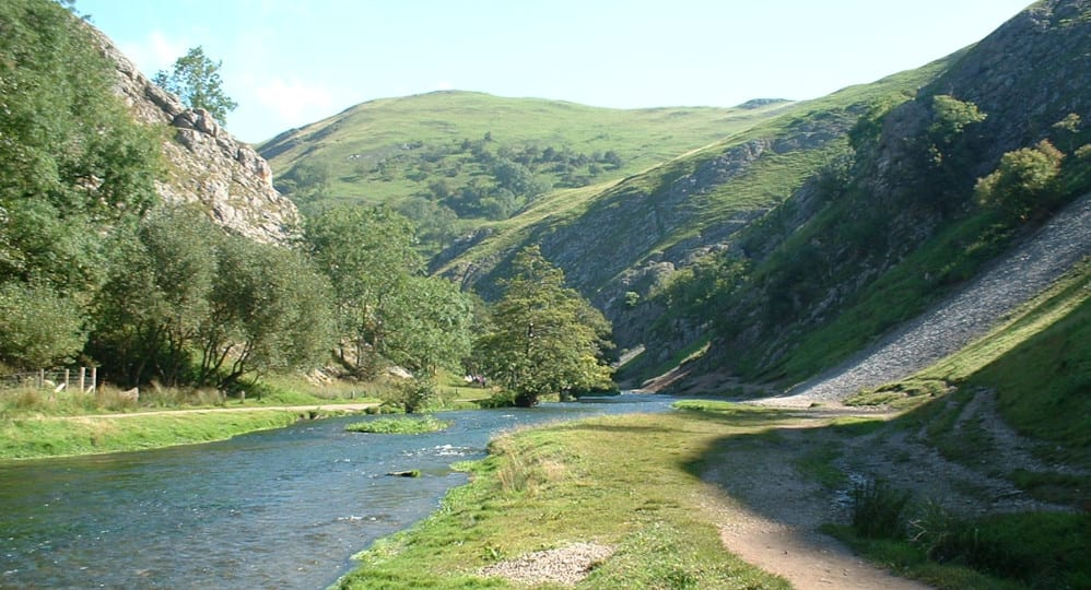 Dovedale, Ilam at the end of the Peak Pilgrimage