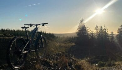 Biking in Gisburn Forest From Ingelton Hostel