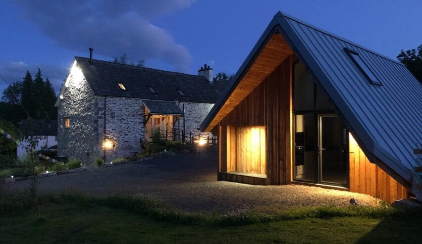 2 person lodge at witherslack cycle barn