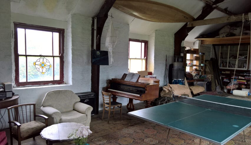 Toad Hall games room in Machynlleth
