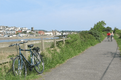 Cycling from Ocean Backpackers