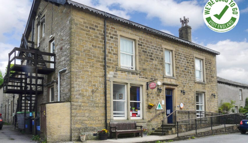 kettlewell hostel with the goodtogo logo