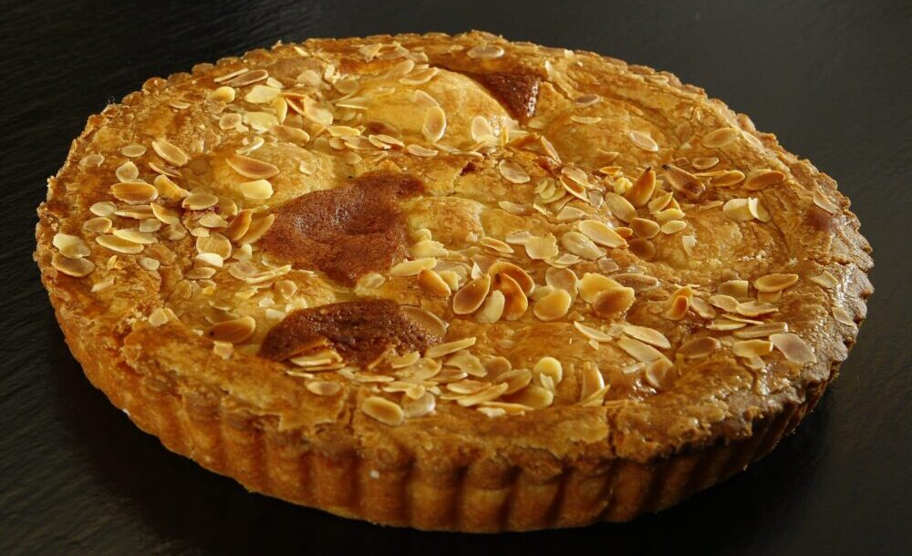 Bakewell tart to enjoy on your staycation