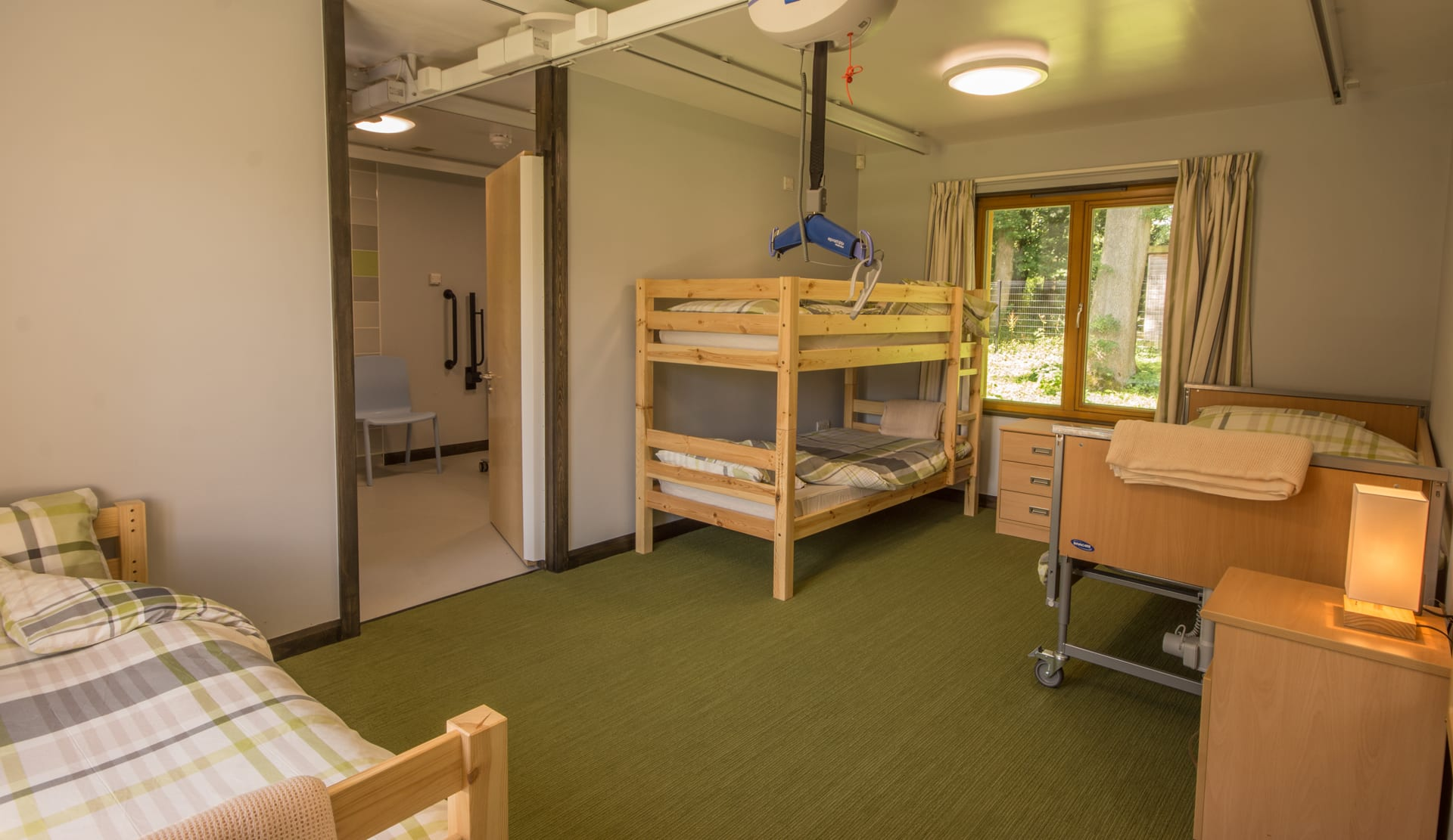 Accessible accommodation : Hostels and bunkhouses