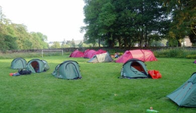 D of E Campsite in the Lake District at Garragil