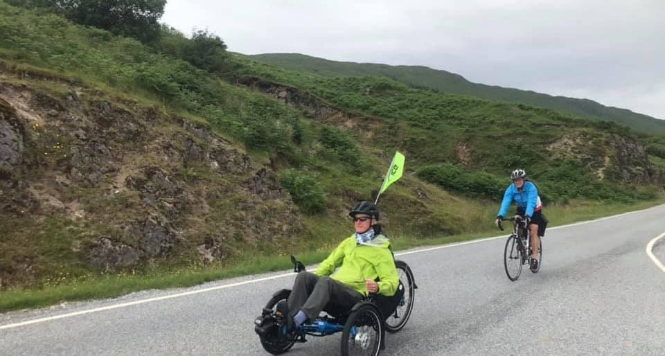 Cycling on the Scottish islands