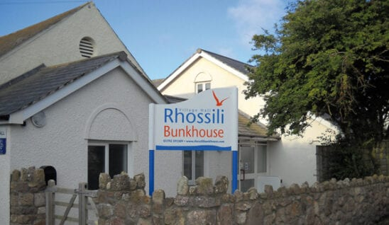 Rhossili bunkhouse on The Gower Peninsular