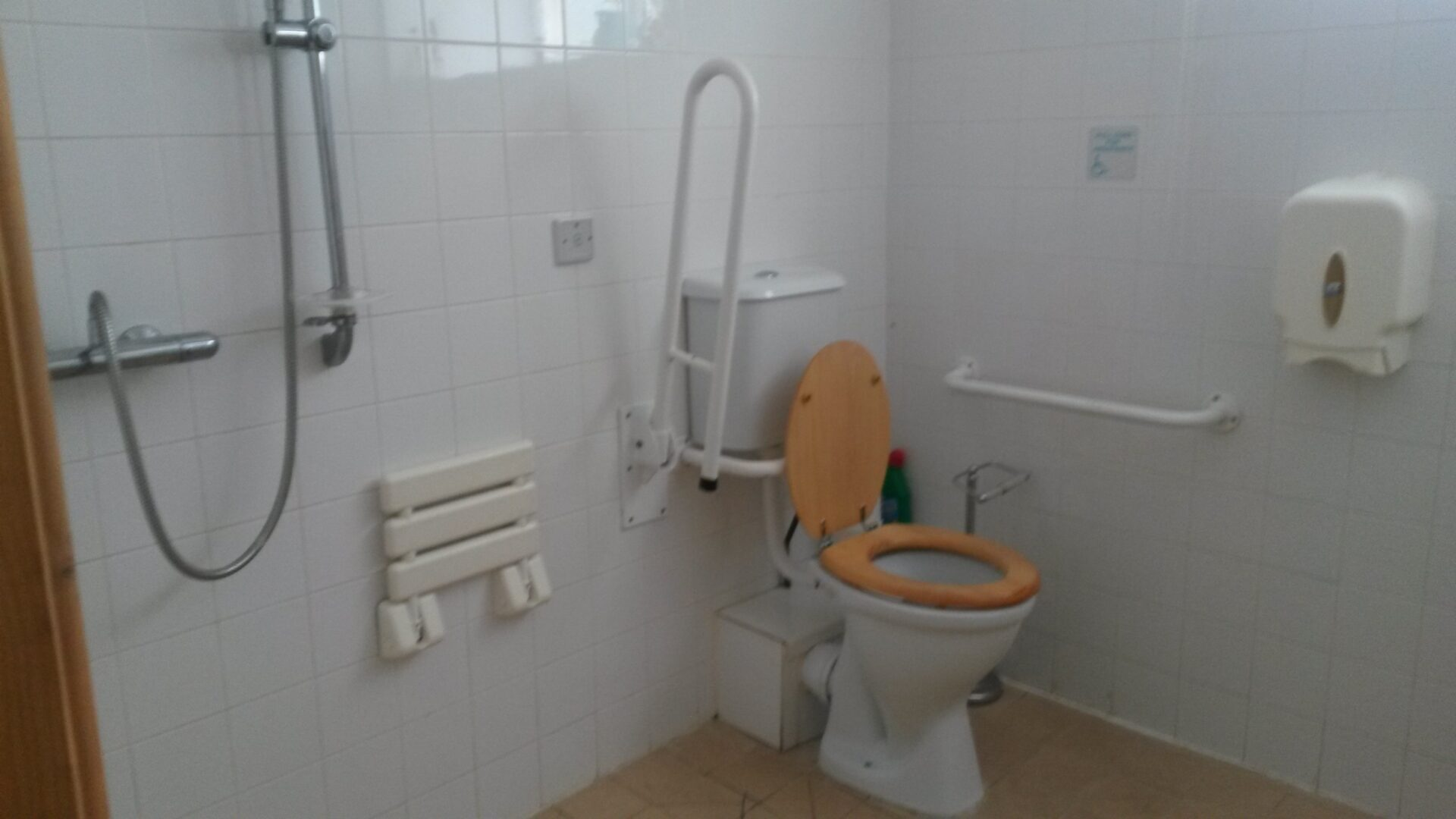 accessible toilet at gilfach wen barn