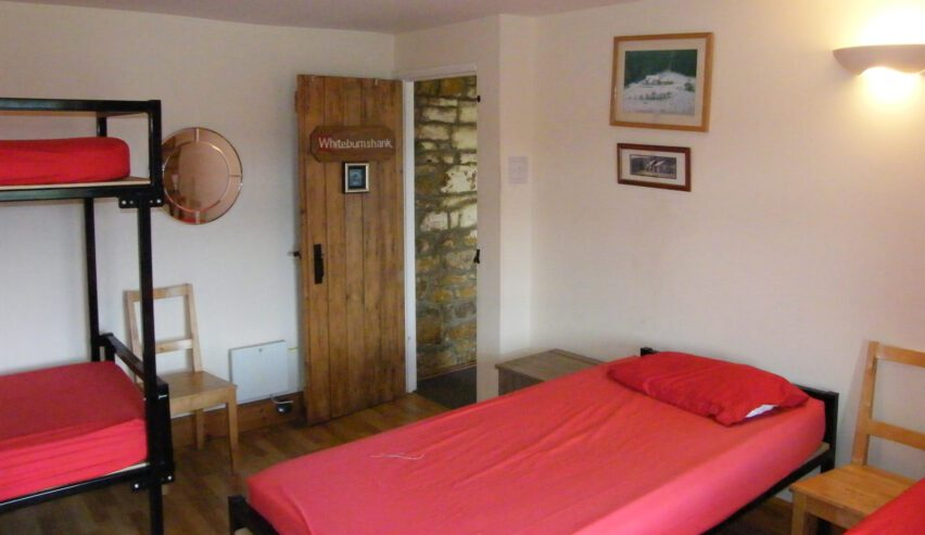 bedroom at Chartners Farm off grid accommodation