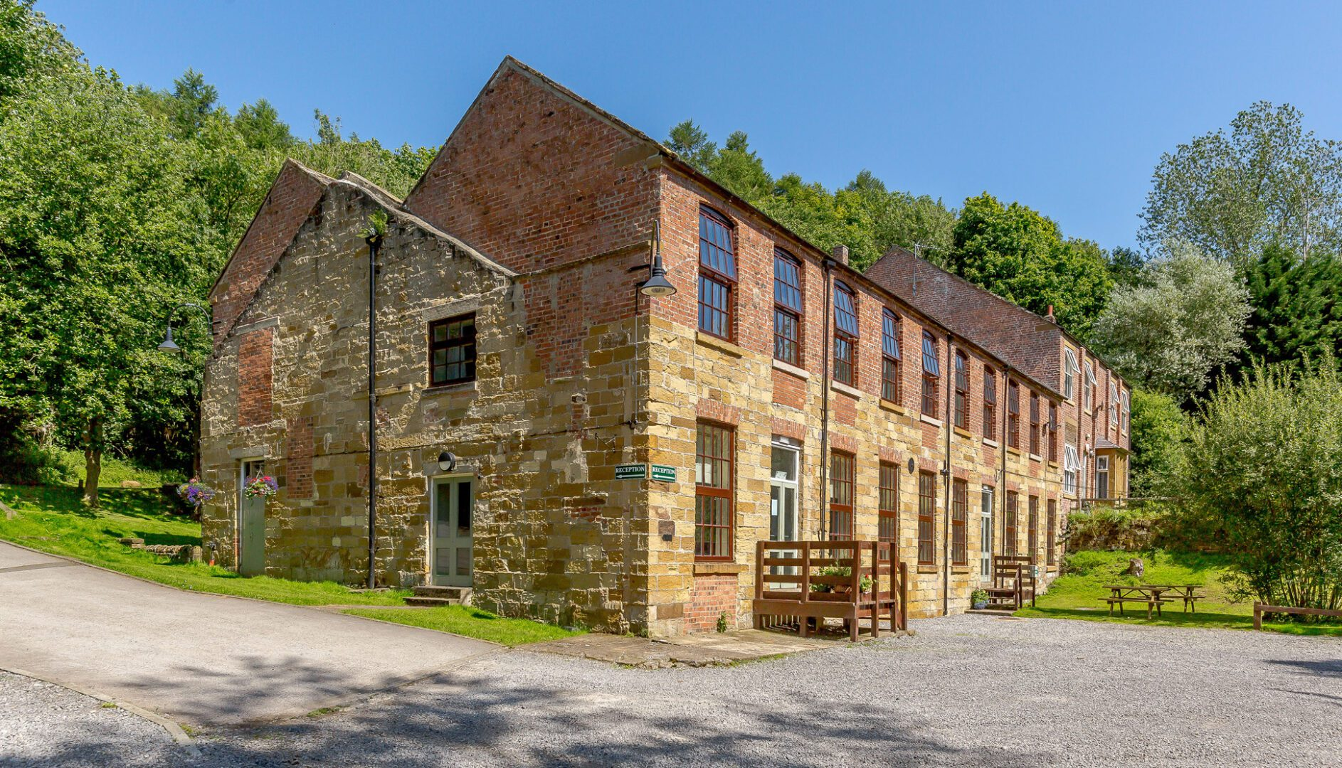 Osmotherley youth hostel at Cote Ghyll Mill