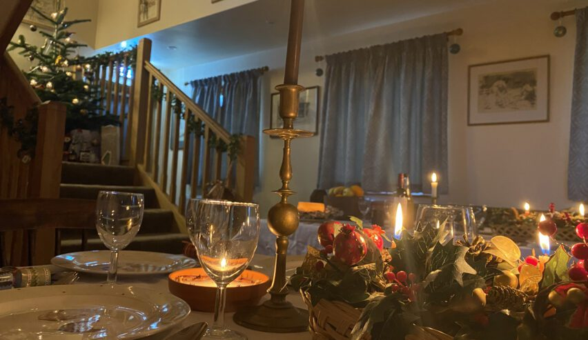 christmas at old brooder bunkhouse self catering in suffolk