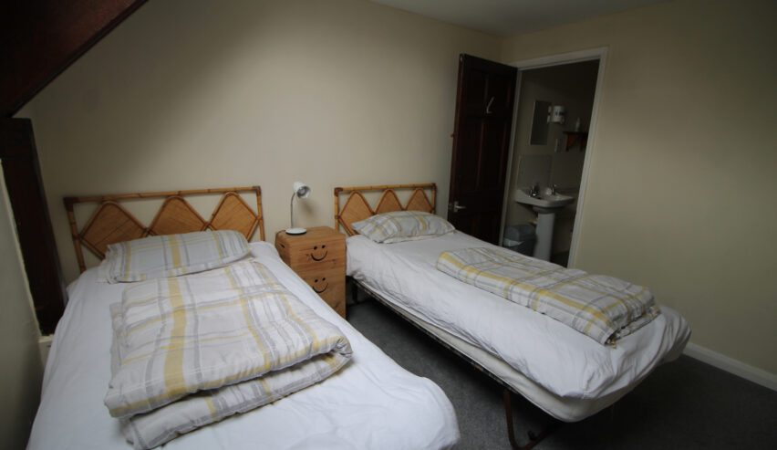 twin room at Kirkby Stephen Hostel