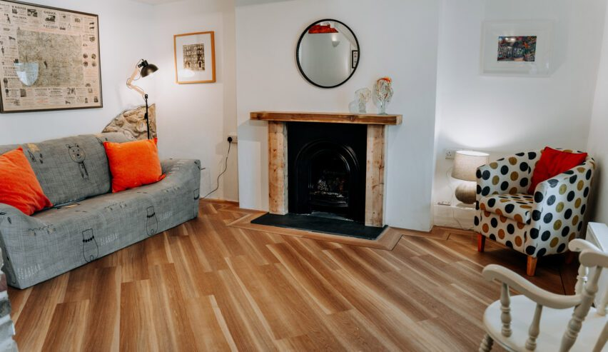 lounge at Hamilton Lodge self catering cottage