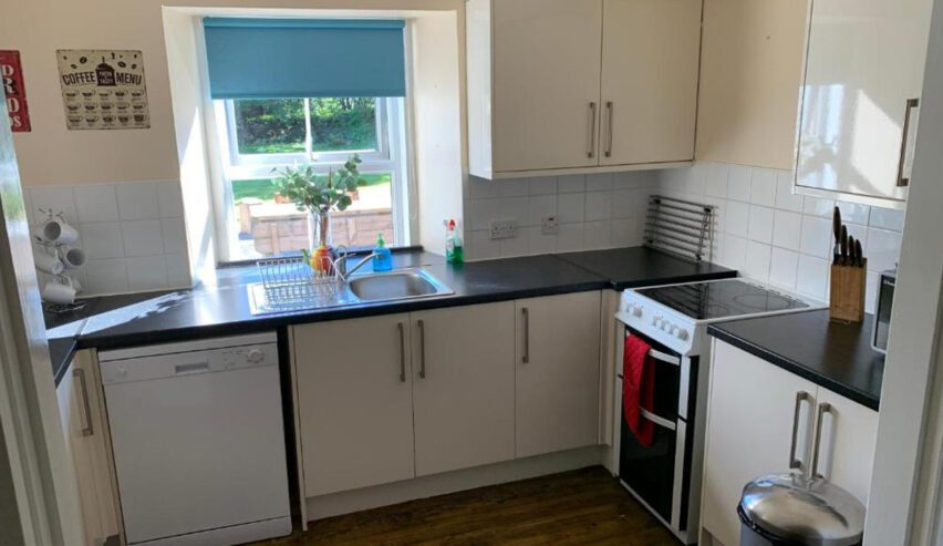 self catering kitchen at Tay Bunkhouse