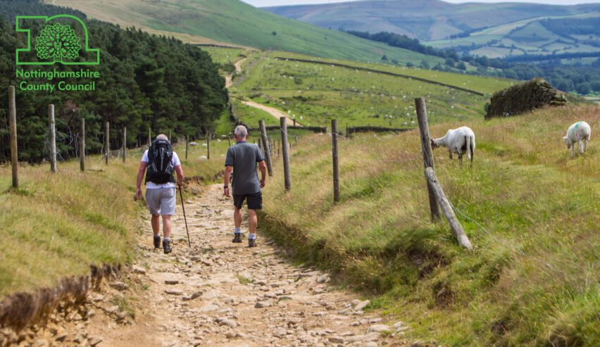 walking at St Michaels centre outdoor pursuits in the peak district